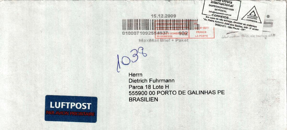 Briefe Von London Nach Deutschland : Philaseiten extreme postlaufzeiten immer schön langsam