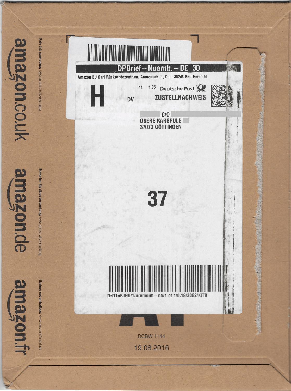 Deutsche Post Kundennummer