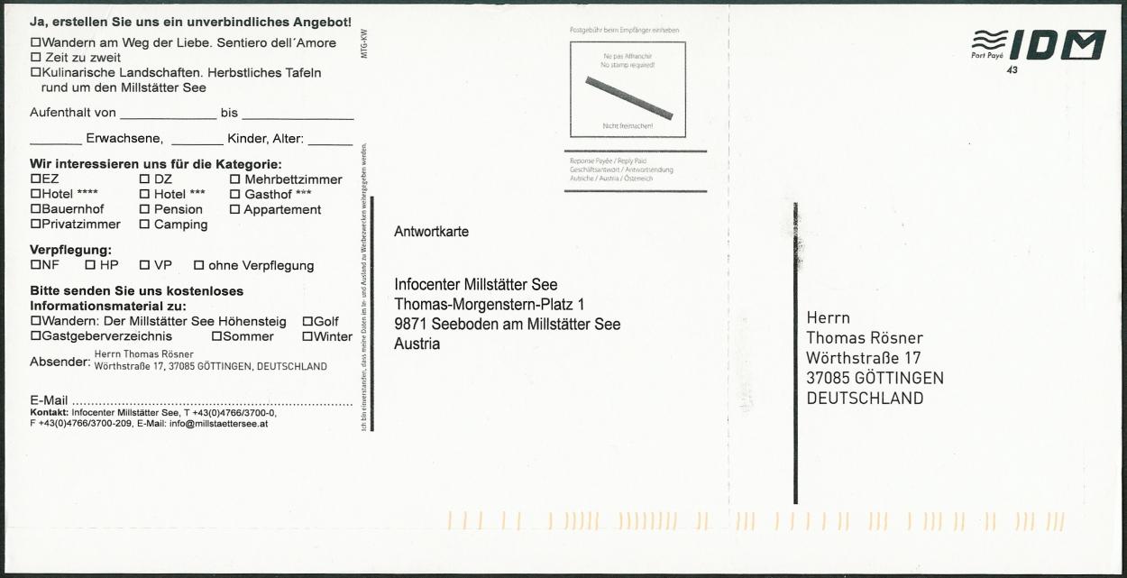 Niedlich Direct Mail Postkarte Vorlagen Ideen - Entry Level Resume ...
