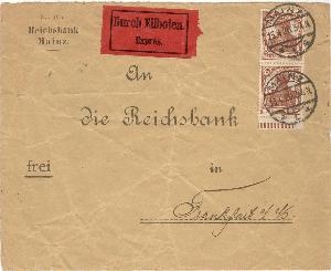 Stuttgart Mannheim // Bahnpost 1981 Und Ein Langes Leben Haben. Briefmarken