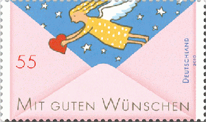 Ausdrucksvoll Brd Bund Atm 2017 9 Cent Mit Zählnummer Briefe Empfangen Und Briefe Schreiben Briefmarken