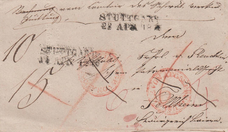 Philaseitende Altdeutschland Bayern Briefe Erklären