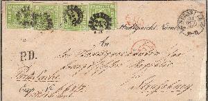 Deutsche Länder Hrr Heiliges Römische Dauerhaft Im Einsatz 4x 1 Pfennig Bayern 1859 1869 & 2x 1871 Kleinmünzen & Teilstücke