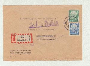 2019 Neuer Stil Bund Nr 183xwv Paar Briefmarken Zusammendrucke