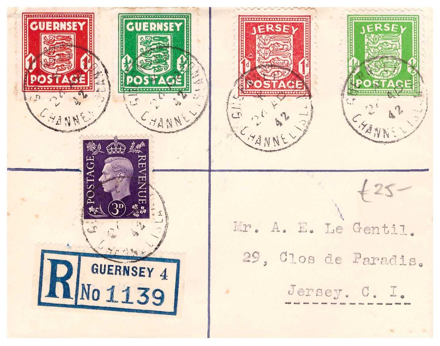 Philaseiten.de: Kanalinseln Guernsey und Jersey: Die deutsche ...