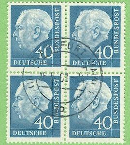 Europa Honig Briefmarken Belgien 408-14 Falz