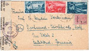 Mittlerer Osten Briefmarken Brief Israel Block Einschreiben In Die Schweiz SchöN In Farbe