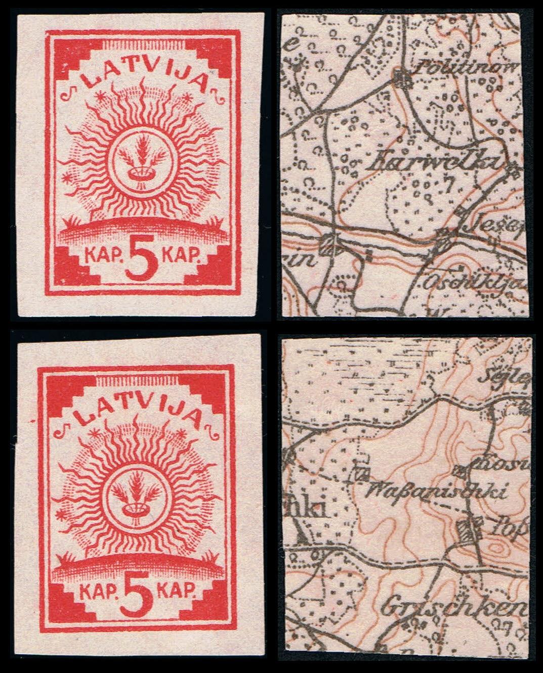 FleißIg Briefmarken Lettland Lettland