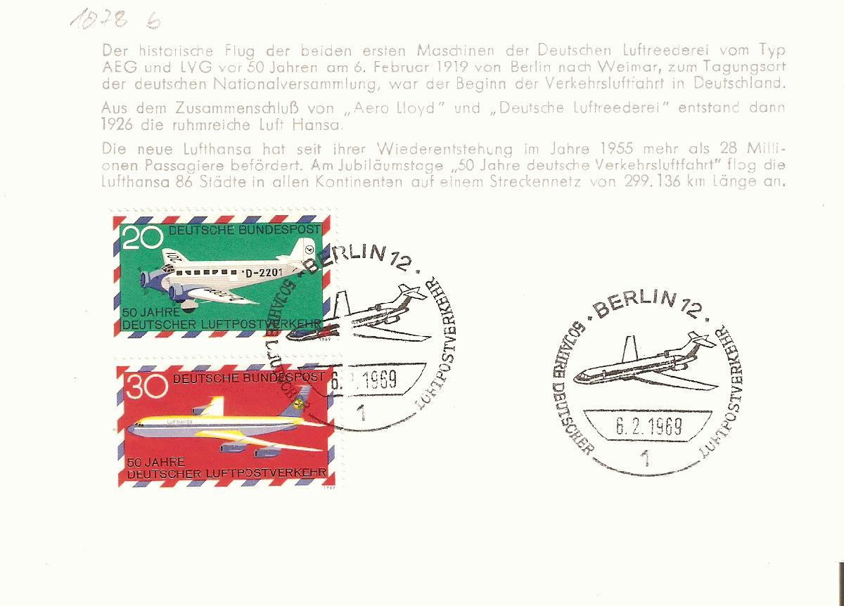 706** Obervolta Haute-volta Wasserflugzeug Minr Postcard