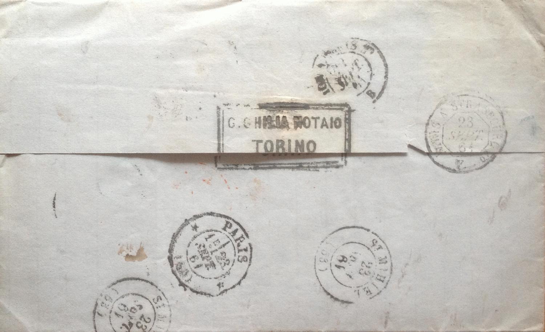 Philaseiten.de: Altitalien: Briefe bestimmen