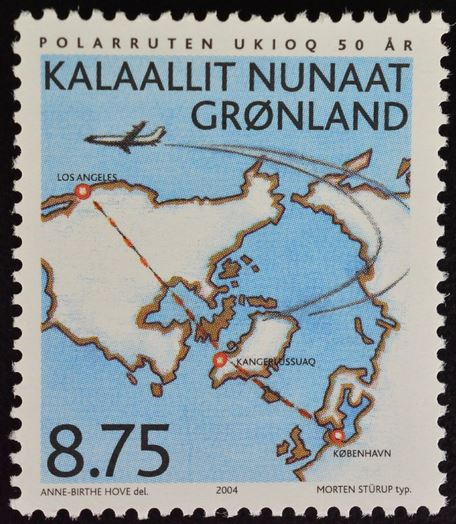 Briefmarken Dk Grönland Gestempelt Minr 120-122 3 Werte