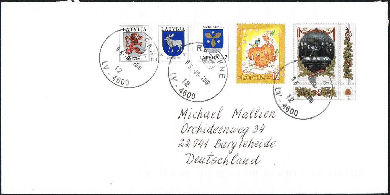 Sehr Schöne Marke Lettland Europa Briefmarken