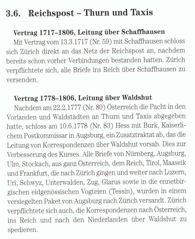 Philaseiten.de: (?) (165) Belege Schweiz -> Altdeutsche Staaten