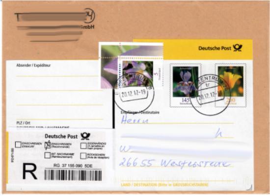 Philaseitende 523 Bund Dauerserie Blumen