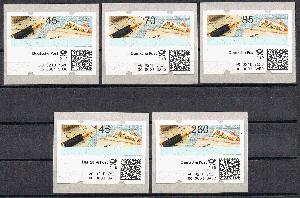Automatenbriefmarken Bund Automatenmarken Michel Nr 6 Gestempelt 36 Stück 02 Hell In Farbe Briefmarken