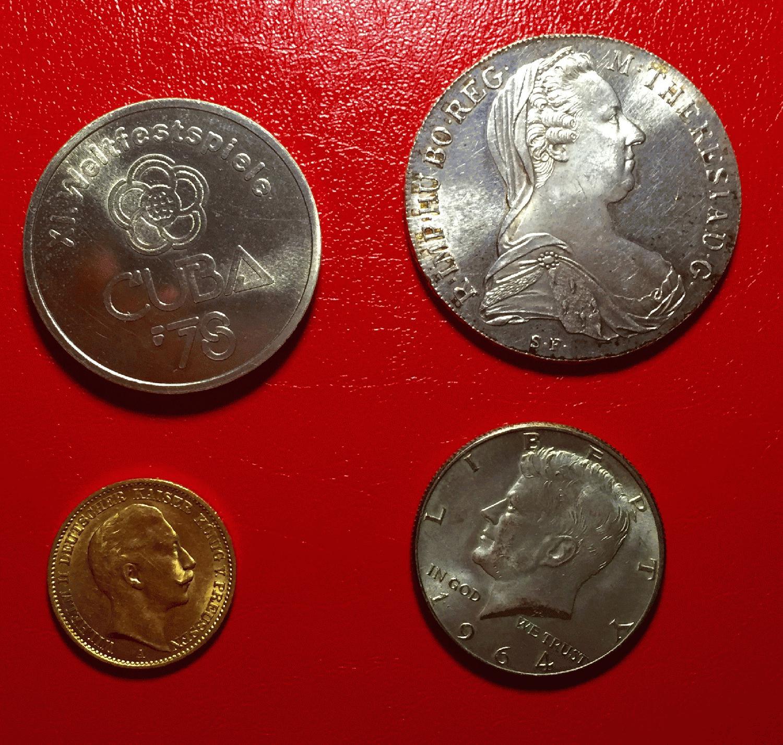 Philaseitende Münzen Echt Oder Falsch
