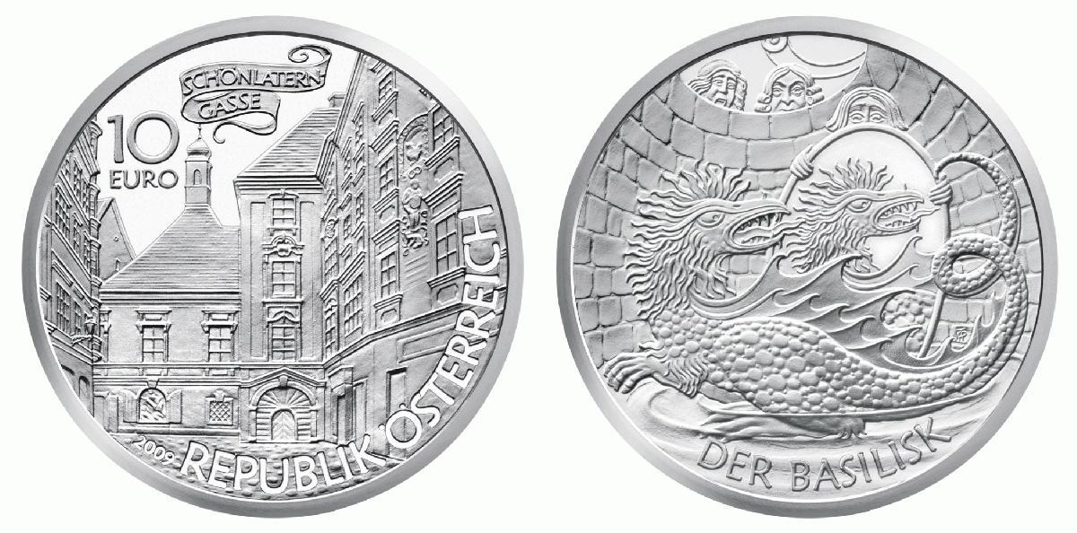 Philaseitende Neue Münzen österreich