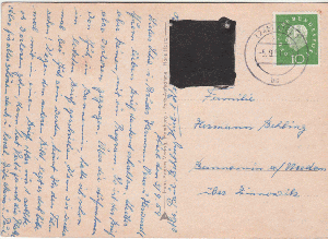 2x Deutschland Ab 1945 Aktiv 1958 Bund Postkarte Dabei Mef Waagrechtes Paar 4 Pfg Heuss Mi 178 Brd 1948-1954
