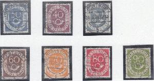 Diverse Philatelie Briefmarken Bund Michel Nr 5 Gestempelt 36 Stück 15 Angenehme SüßE