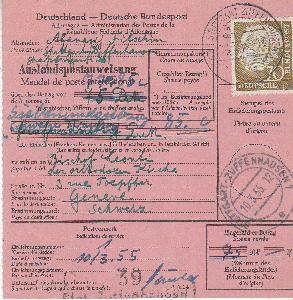 Briefmarken Brief Mit Heuss-marken Vom Ersttag 31.1.54 Weniger Teuer