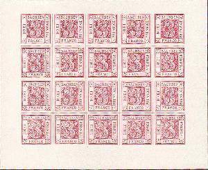 Zubehör Briefmarken Rapp-auktion November 2014 Durch Wissenschaftlichen Prozess Streng Europa/alle Welt