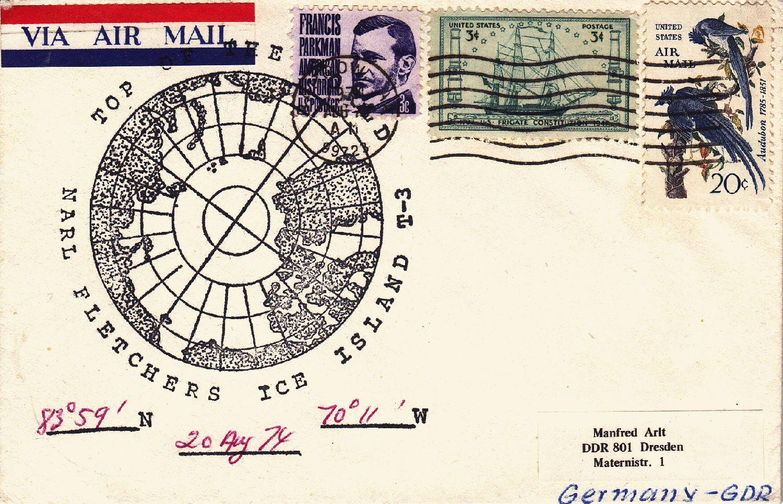 Geschickt Grönland Block 5 Gestempelt Briefmarken