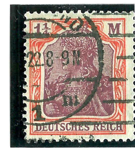 Philaseitende Deutsches Reich Wasserzeichen Bestimmen