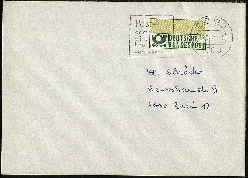 Briefmarken Bund Automatenmarken Michel Nr 7 Gestempelt 36 Stück 11