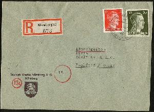 151 Gest Bescheiden Polen Nr Freimarke Polnischer Adler Markwerte
