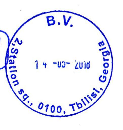 Postleitzahl Tbilisi
