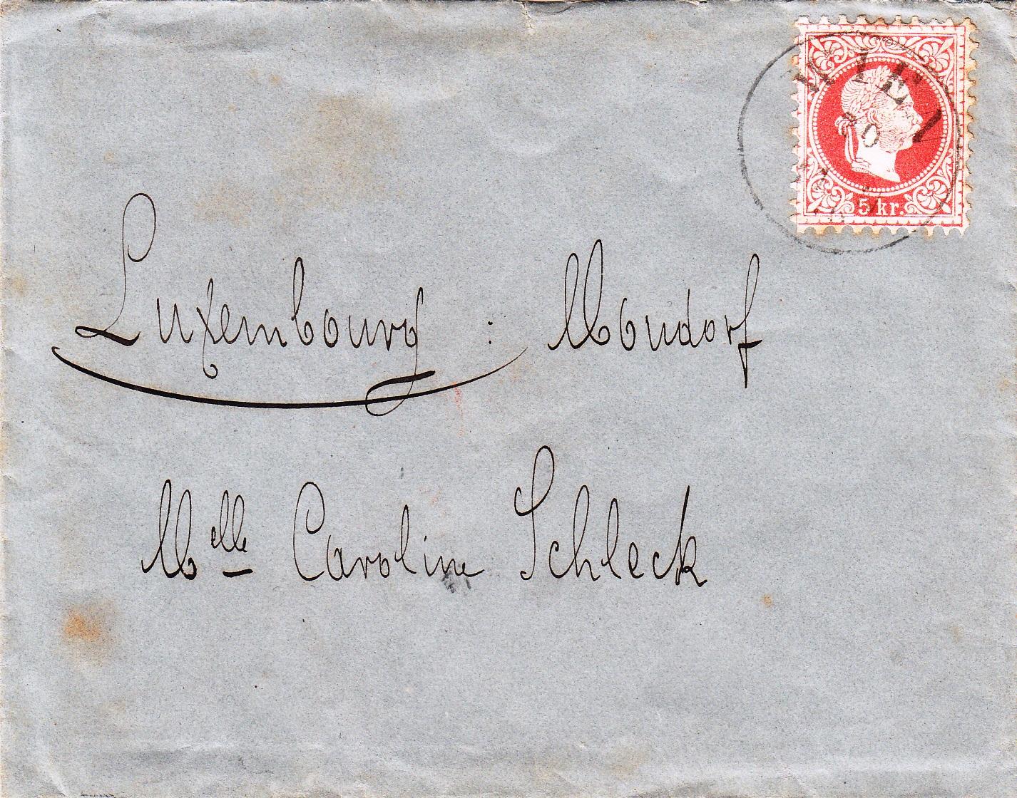 Philaseitende Luxemburg Eingehende Briefe