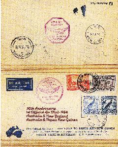 Lots & Sammlungen Motiviert Österreich Sonderbeleg Aua Erstflug Wien Hannover Lh 301 R