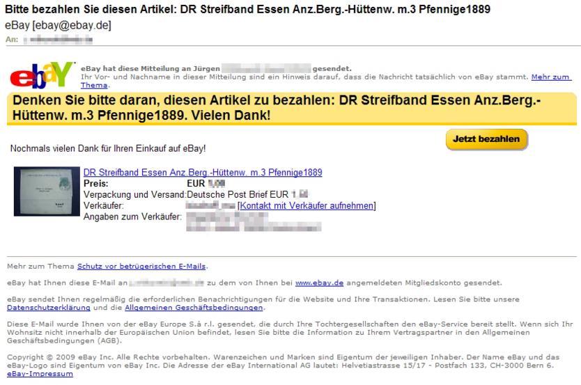 Philaseitende Ebay Nachrichten Und Informationen