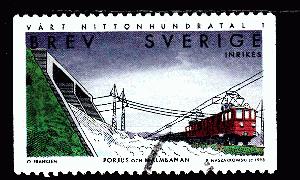 423129 Natur Schweden Mh 143 Gestempelt