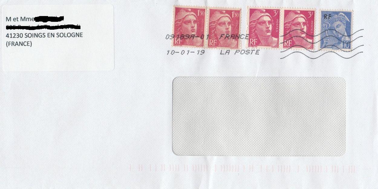 Philaseitende Frankreich Briefe Mit Frankatur In Alter Franc Währung
