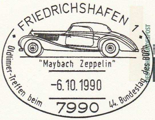 Philaseitende Motiv Zeppeline Auf Marken Und Stempeln