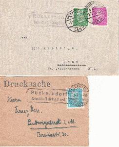 Bahnpost Stuttgart // Bahnpost 1983 100% Garantie Karlsruhe