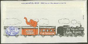 Mi-nr Gemälde / Paintings Maxikarte Kreativ Jersey 1984 338