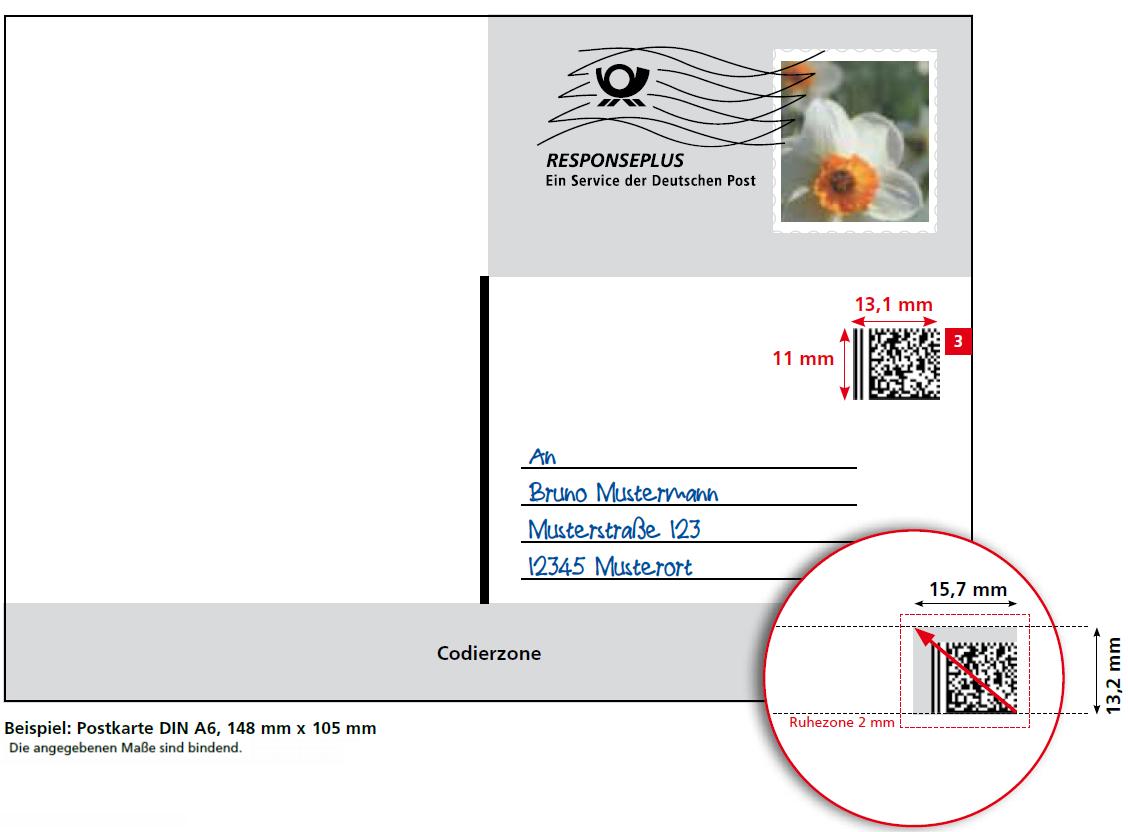 Philaseiten.de: Deutsche Post: Sendungsform Responseplus