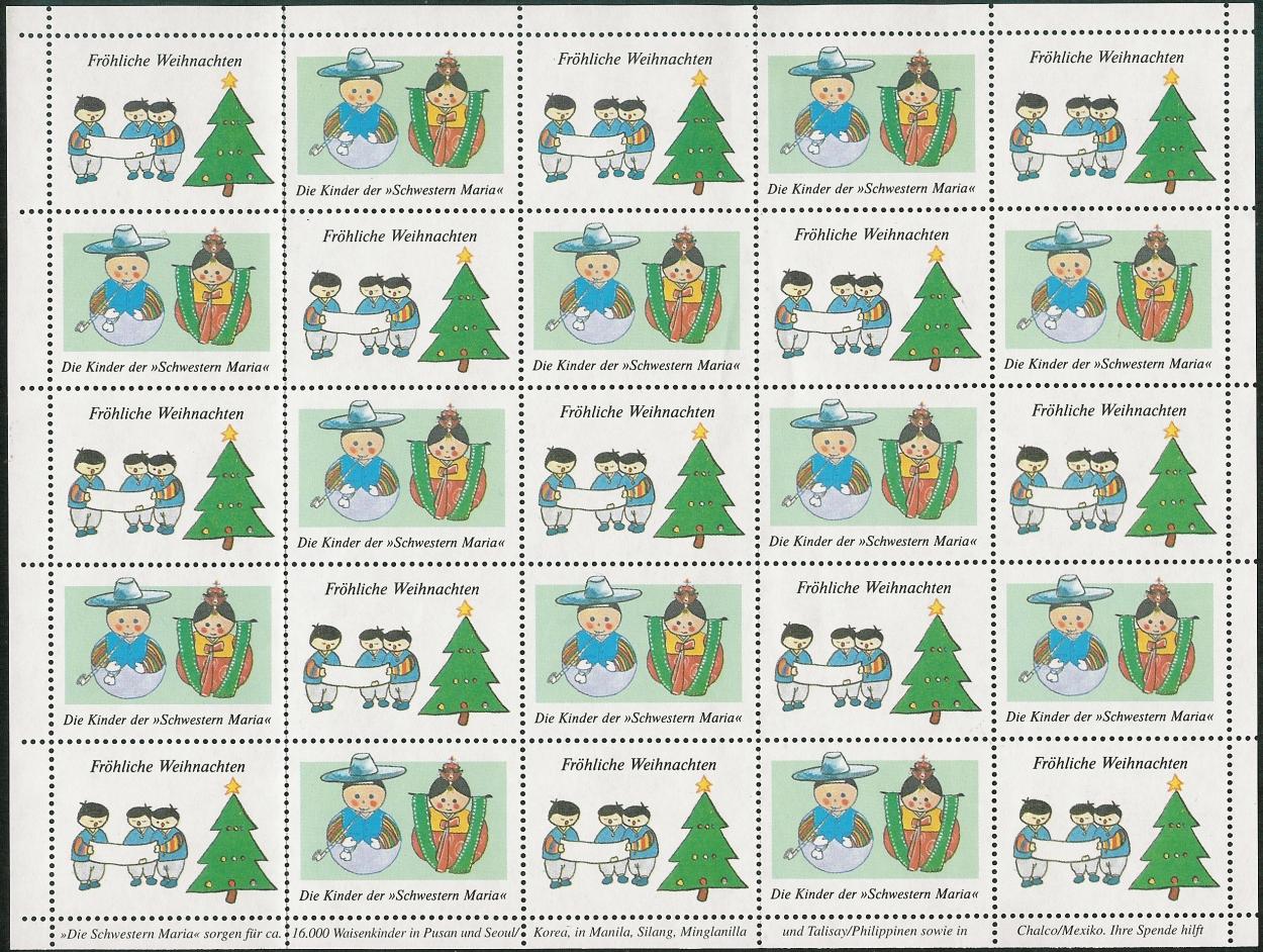 Frohe Weihnachten Georgisch.Philaseiten De Weihnachtsmotive Auf Marken Stempeln Und Belegen