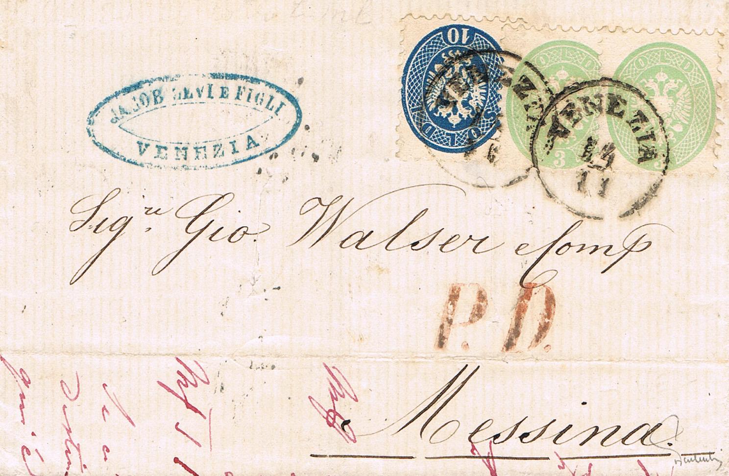 Philaseitende österreich Altbriefe Bestimmen Und Bewerten