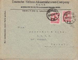 Briefmarken Hilfreich Ansichtskarte Bad Nauheim Gelaufen 1929 Deutschland