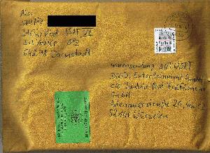 Absender briefe empfänger verschicken Brief Verschicken